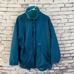 VTG The North Face Reversible Zip Up Jacket